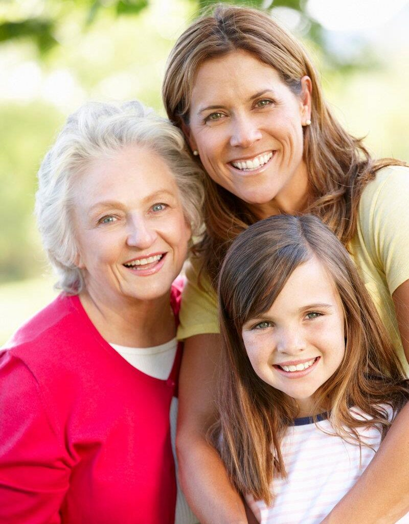 3 generations of women -2
